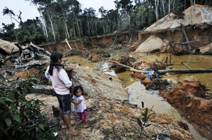 Gold Rush in Peru (22 pics)