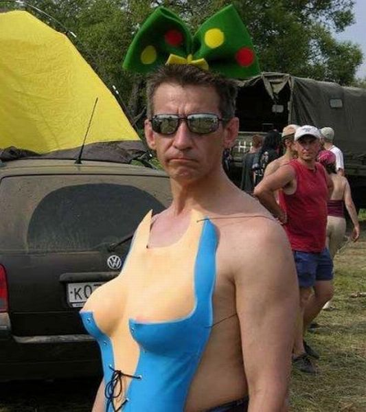 Funny and Strange People (25 pics)