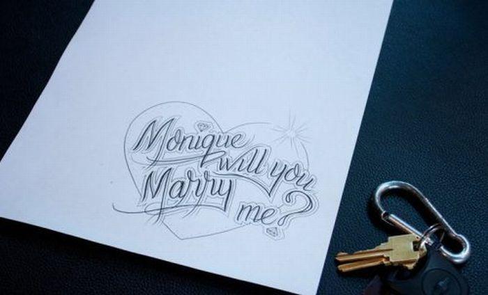 Tattoo Proposal (7 pics)
