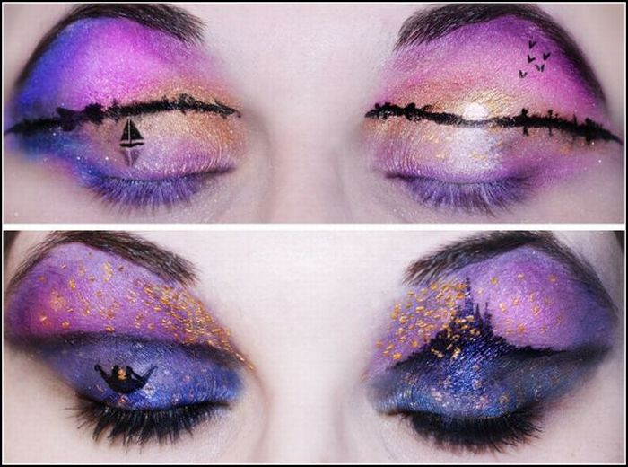 Incredible Eye Makeup by Katie Alves (18 pics)