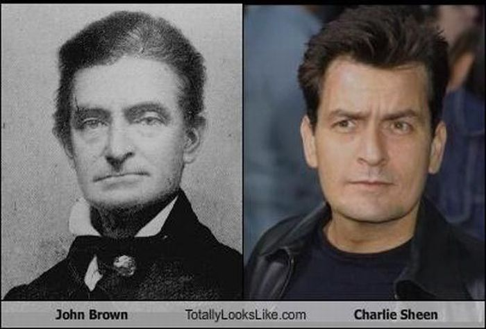 Celebrities vs Historical Figures (35 pics)