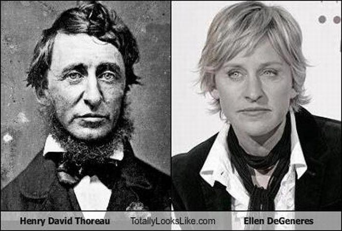Celebrities vs Historical Figures (35 pics)