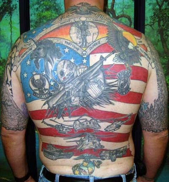 US Military Tattoos (48 pics)