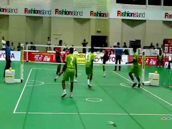 Kung Fu Volleyball or Kung Fu Soccer?