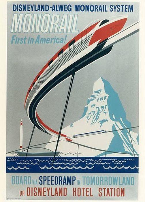 Vintage Disneyland Posters (42 pics)