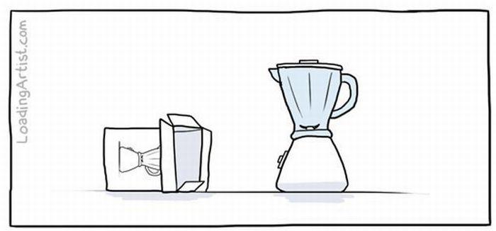 The Sad Story of a Blender (5 pics)