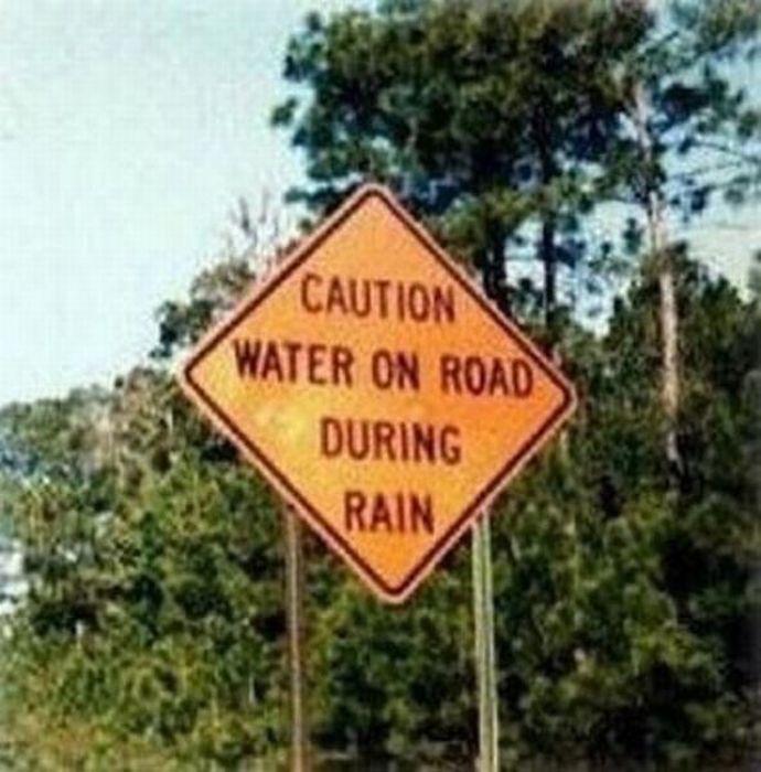 Useless Signs (48 pics)