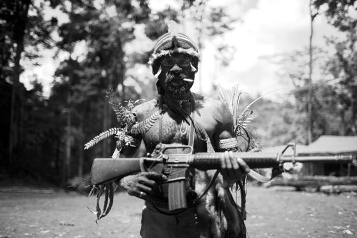 West Papuan Rebels (8 pics)
