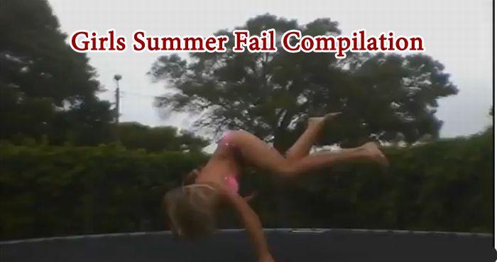 Girls Summer Fail Compilation (video)