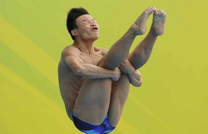 Funny Faces of Divers (22 pics)