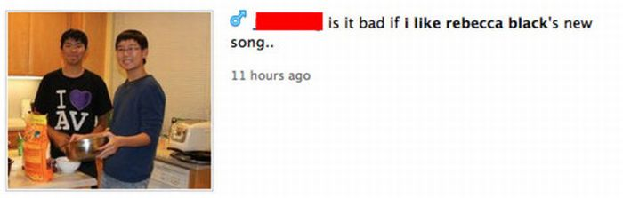 People Who Listen to Rebecca Black's Music (22 pics)