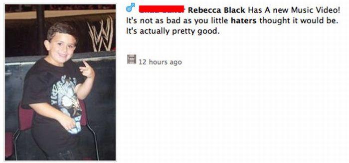 People Who Listen to Rebecca Black's Music (22 pics)