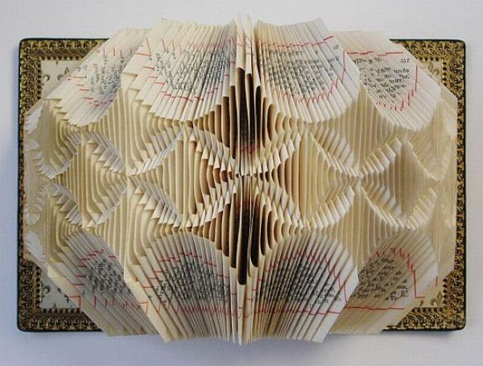 Awesome Book Sculptures (29 pics)