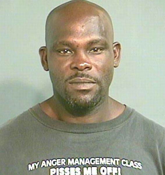 Mug Shots Of People Wearing Weird And Funny T-Shirts (40 Pics