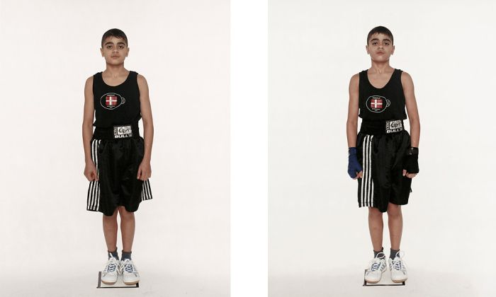 Boxers Before and After the Fights (44 pics)