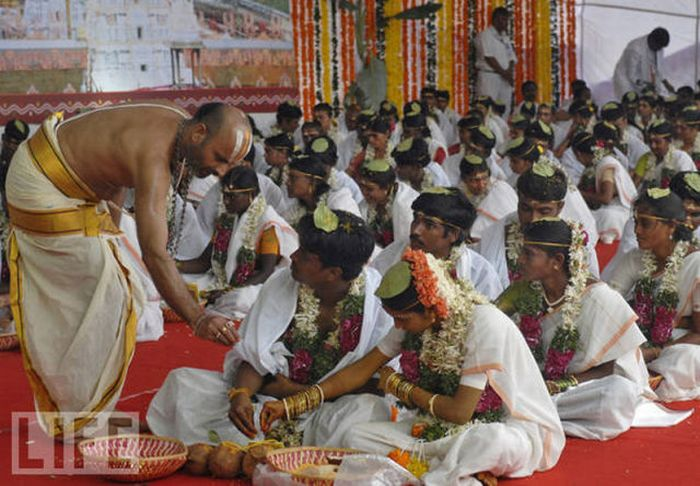 Mass Weddings  (11 pics)