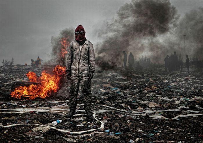 Hell on Earth. Mozambique Trash Dump (18 pics)