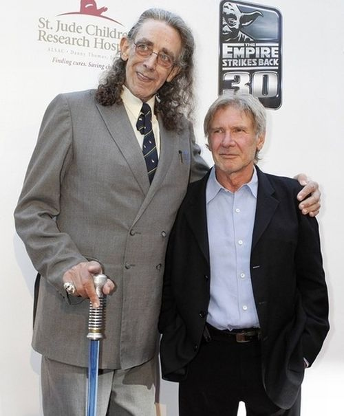 Chewbacca and Han Solo Then and Now (2 pics)