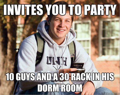 The Best Of The College Freshman Meme (40 pics)