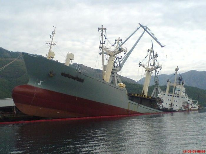 Cargo Ship Accidents (24 pics)