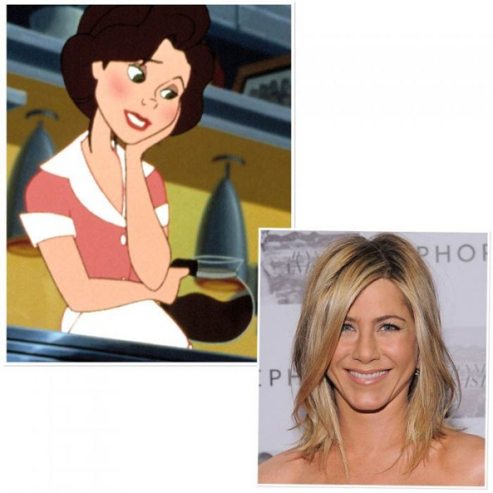 Cartoons That Were Voiced By Celebrities Part 2 (12 pics)
