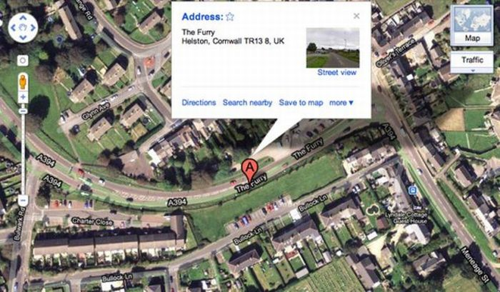 Inappropriate But Hilarious Real UK Locations (40 pics)