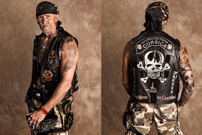 Portraits of Harley-Davidson Riders (16 pics)