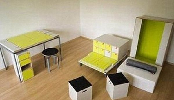 The Whole Room Hidden in One Box (7 pics + video)