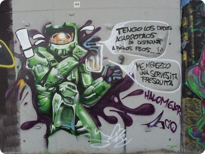 Game Graffiti (12 pics)