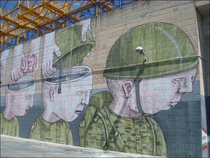 Brain Washing or How Soldiers are Made (7 pics)
