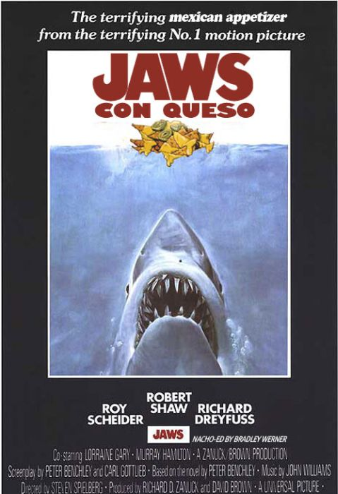 Hilarious Spoofs Of The 'Jaws' Movie Poster (25 pics)