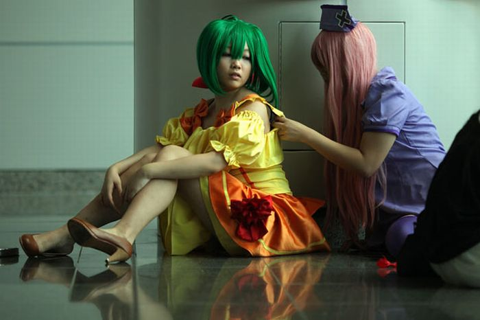Cosplay of Hong Kong's Annual Comic Fair (24 pics)