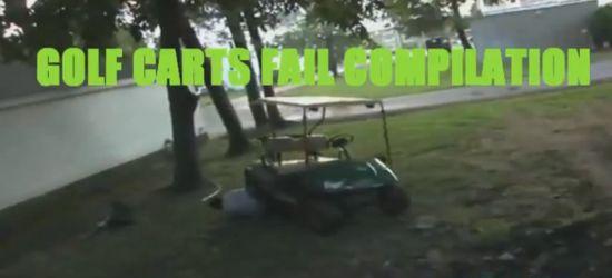 Golf Cart Fail Compilation (video)