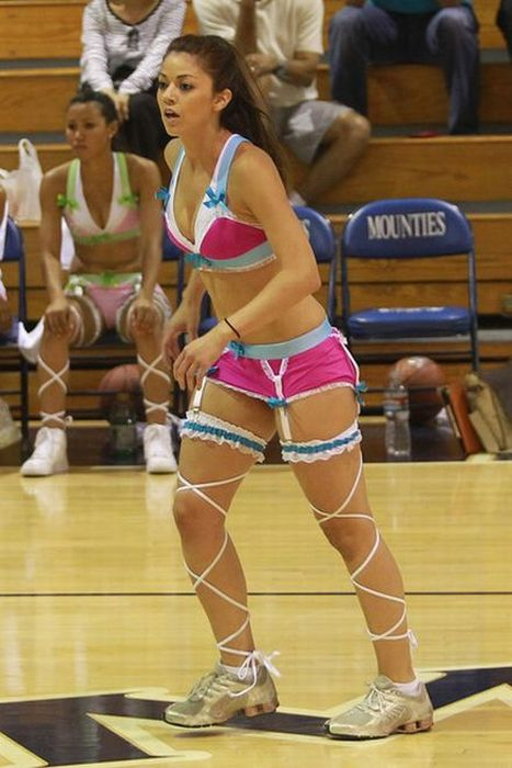 4b36a9c266 The Lingerie Basketball League (19 pics)