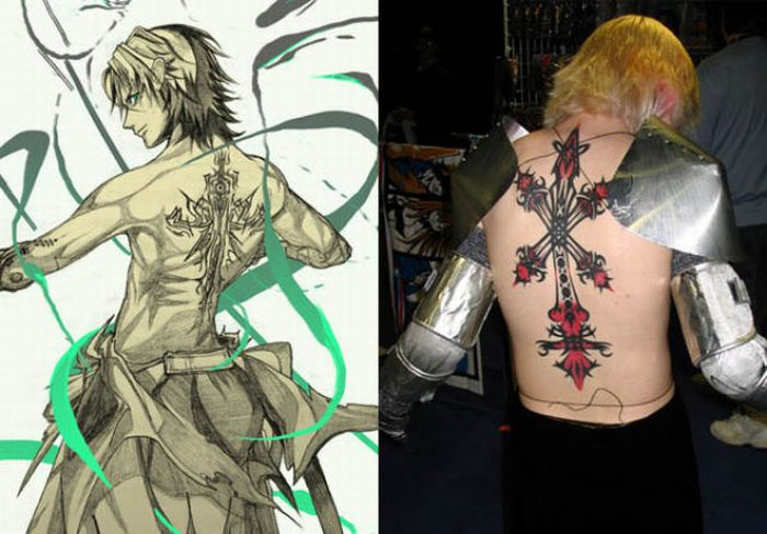 Tattoos of Video Games Characters (21 pics)