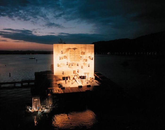 The Stages of Bregenz: Opera on the Lake (20 pics)
