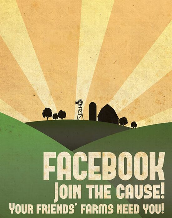 Social Media Propaganda Posters by Aaron Wood (9 pics)