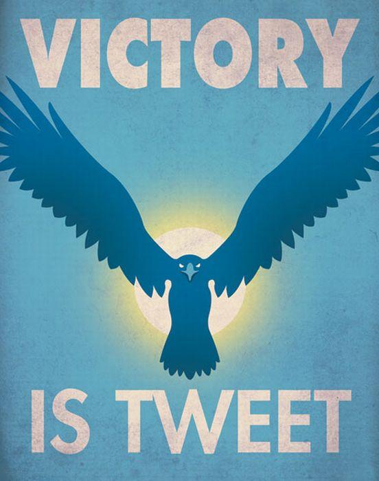 Social Media Propaganda Posters by Aaron Wood (9 pics)