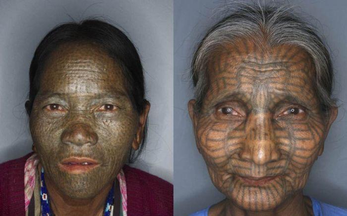 Tattoo Faces (14 pics)