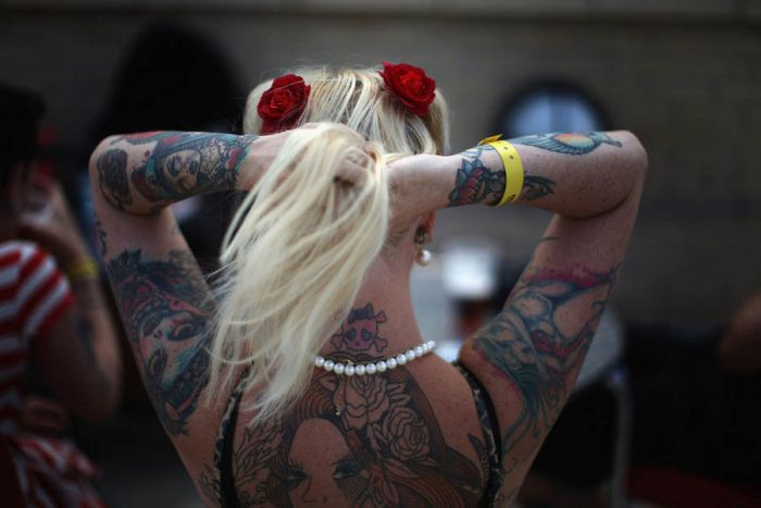 Tattoo Convention in London (14 pics)
