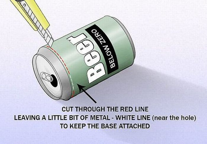Boost Your WiFi Signal With A Beer Can (7 pics)