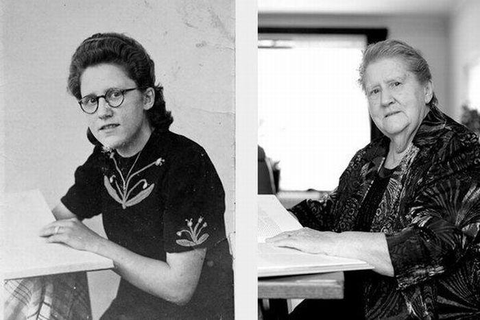 Past vs Present Portraits (14 pics)