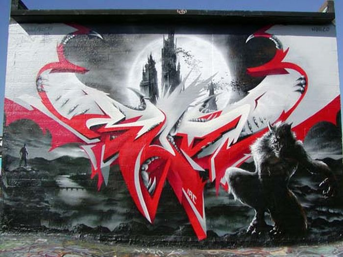 Graffiti Artworks (50 pics)