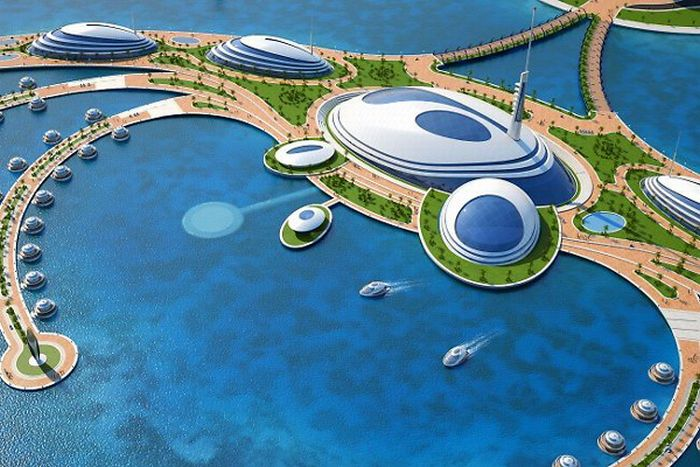 "Luxury Resort ""Amphibious 1000"" in Qatar (11 pics)"