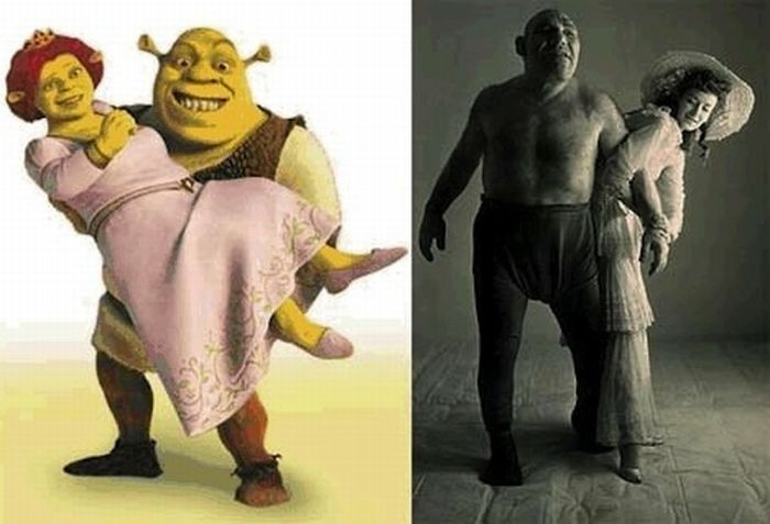 Famous Fictional Characters Who Were Based On Real People (11 pics)