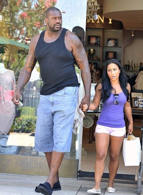 Shaquille O'Neal and Nicole 'Hoopz' Alexander (5 pics)