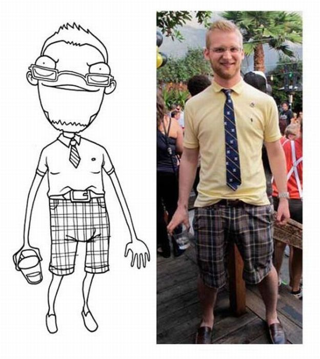Funny Caricatures of Facebook Users (18 pics)