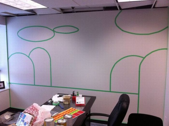 DIY Decoration for an Office (5 pics)