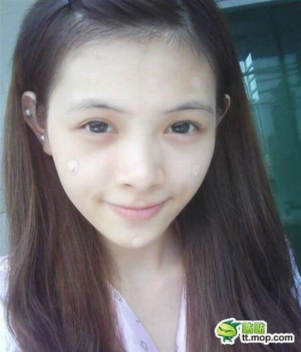 A Young Girl Before and After makeup (60 pics)