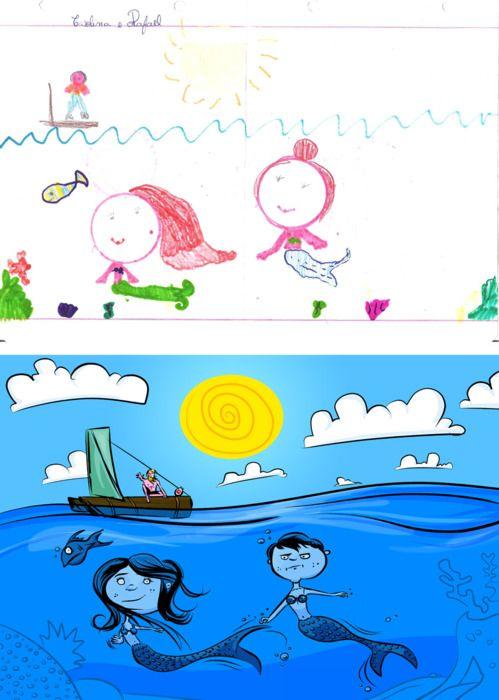 Kids' Drawings by Garrett Miller (22 pics)